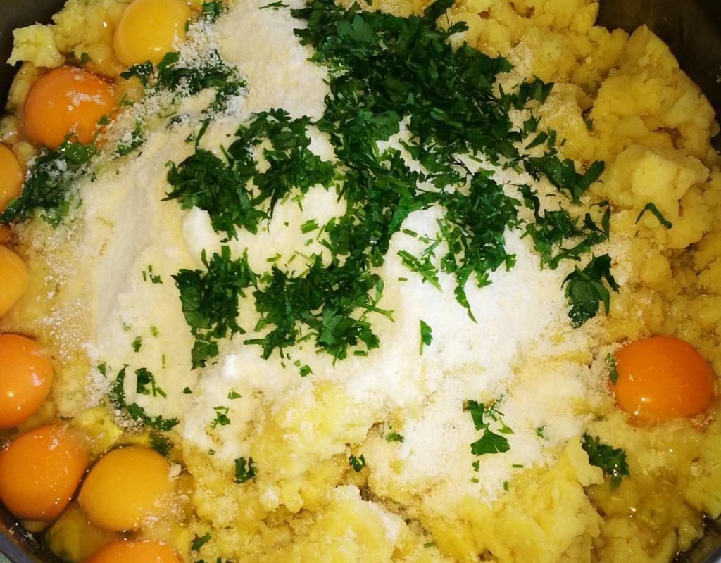 impasto crocchette di patate