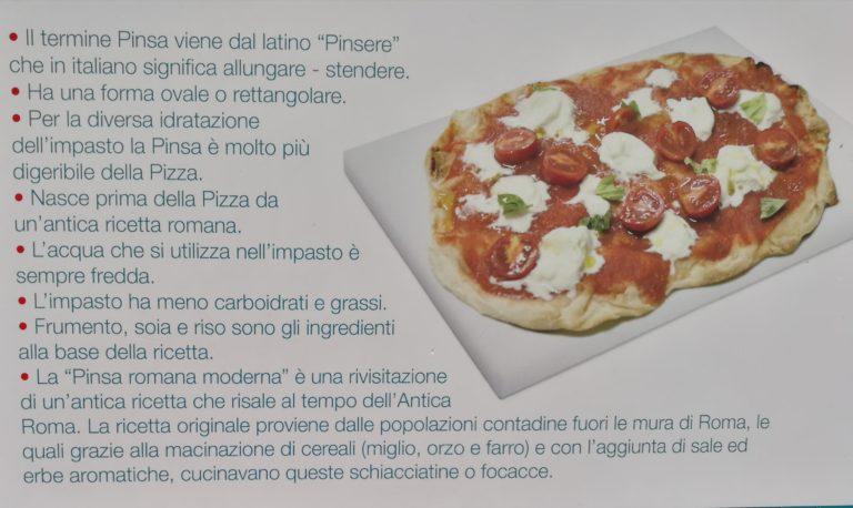 La Pinsa – antenata della pizza