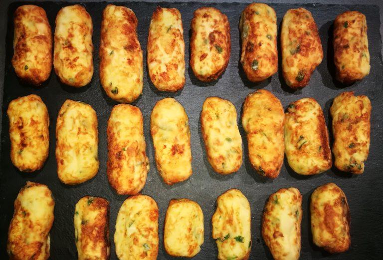 """Crocchette di patate (""""vrasciole"""" in dialetto calabrese)"""