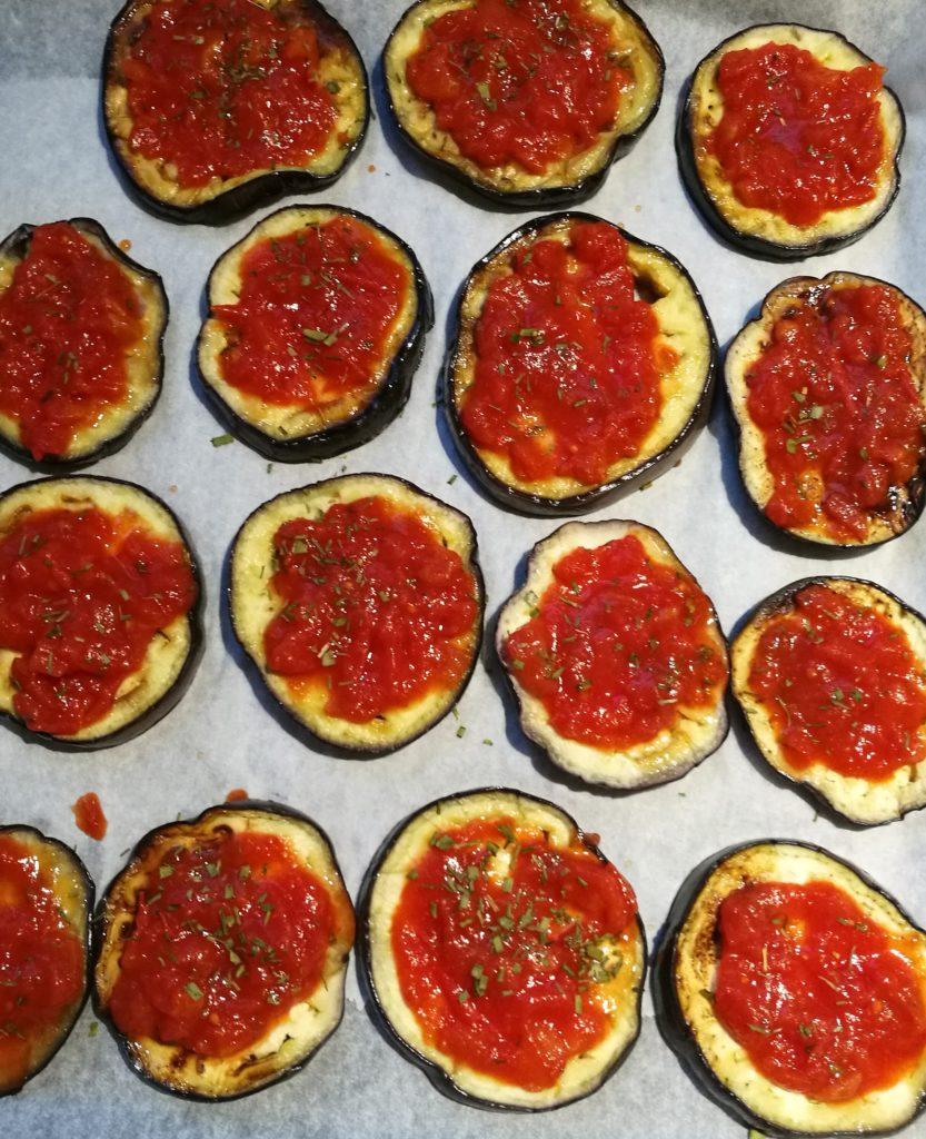 melanzane grigliate con pomosoro