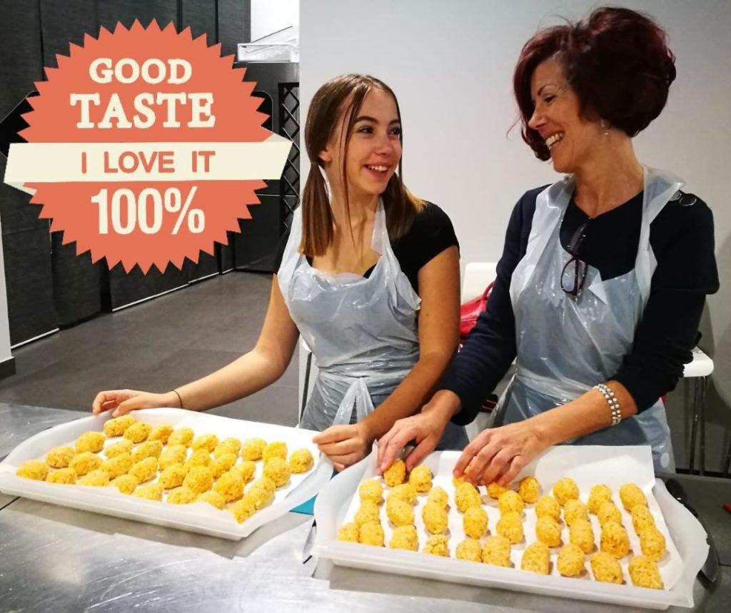 """aperitivo attivo presso """"Cucina in"""" - scuola di cucina di Milano"""