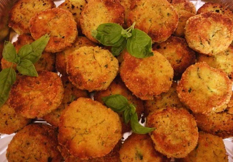 Polpette di zucchine grattugiate e ricotta