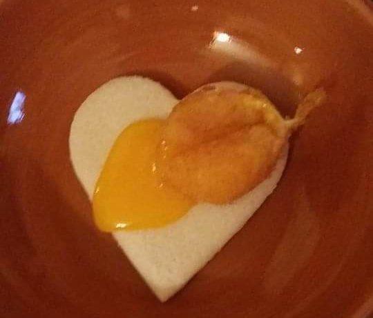 uovo panato e fritto