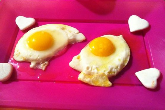 Uova a occhio di bue