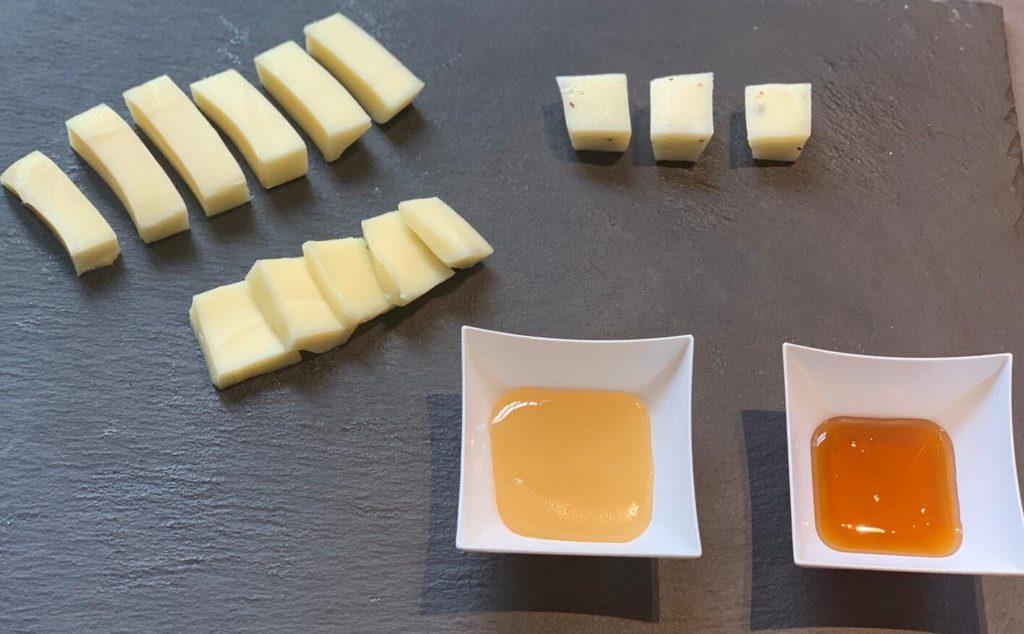 aperitivo con formaggio molisano