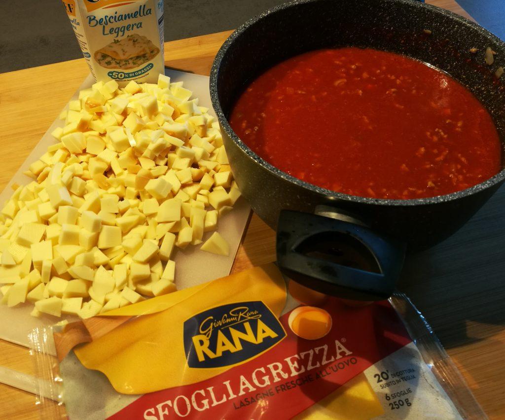 occorrente per lasagne