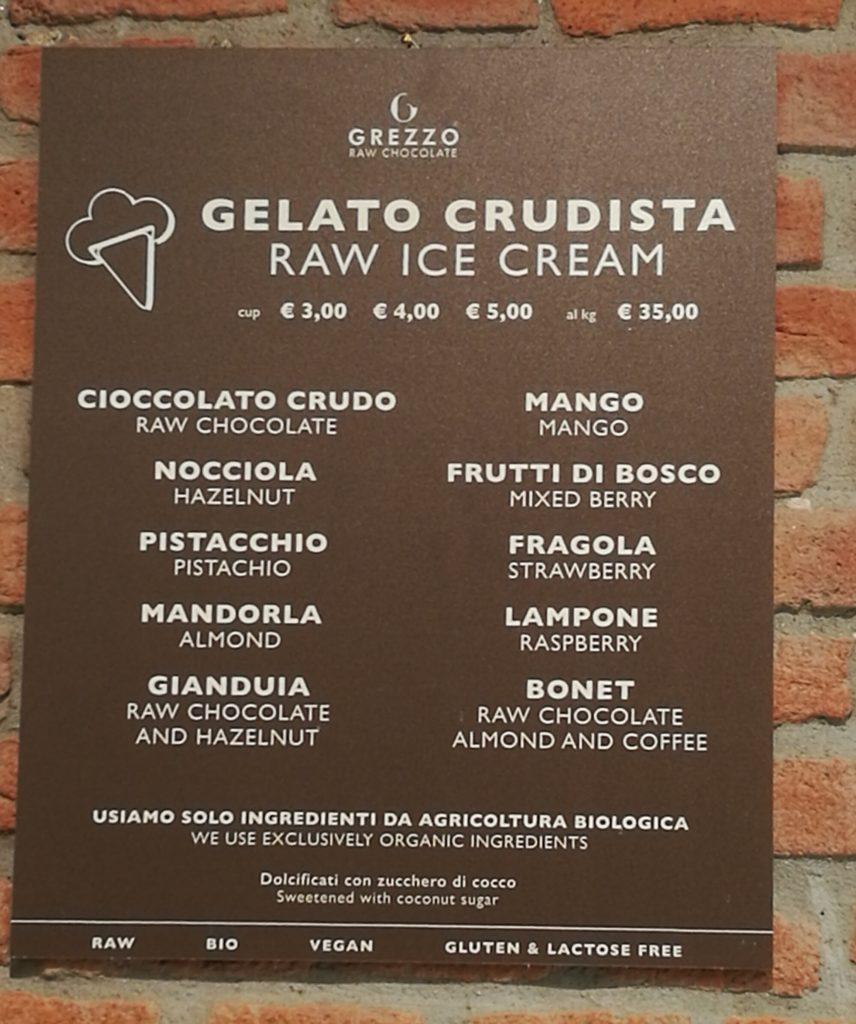 gelato crudista
