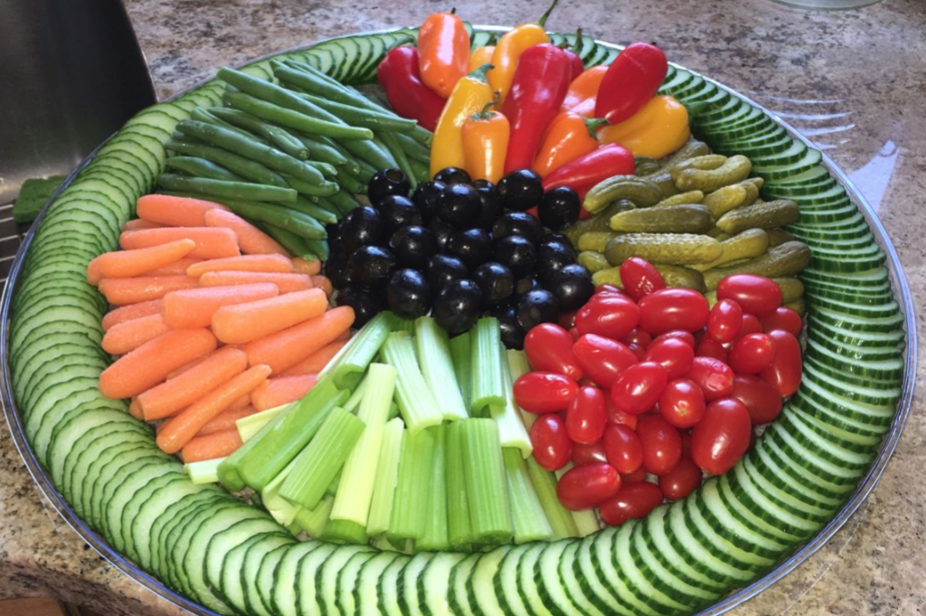 verdure crude e cotte