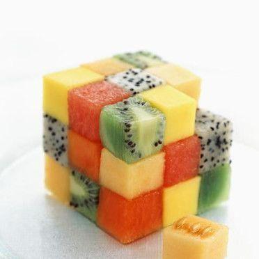 Frutta in meravigliose composizioni