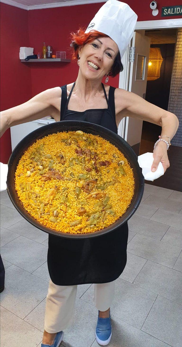 Paella valenciana direttamante in loco: escuela de arroces y paella