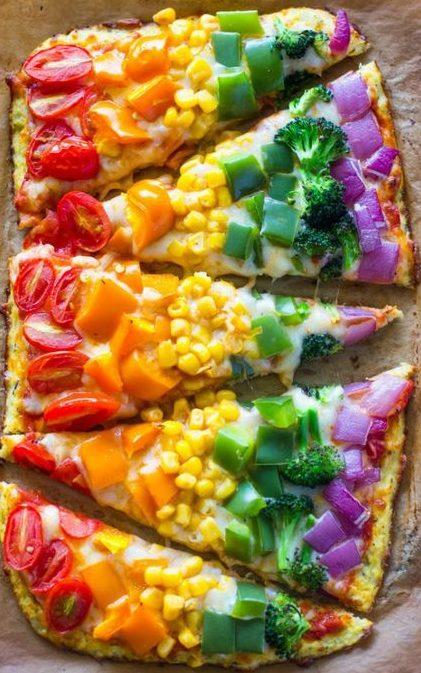 schiacciata con verdure