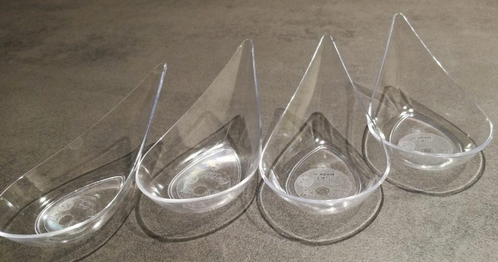 cucchiai moporzioni in plastica