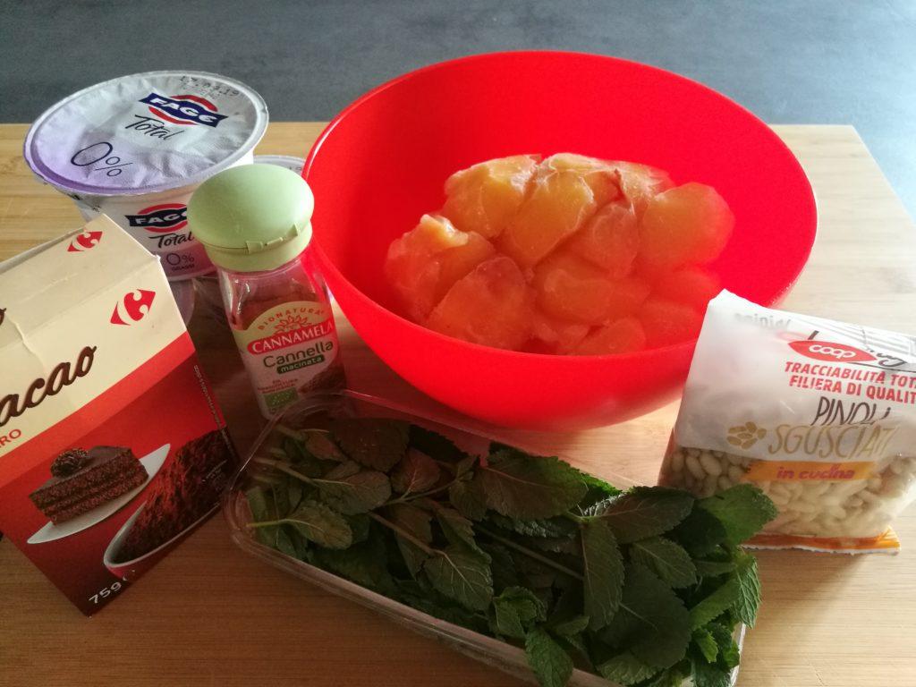ingredienti gelato chiacchierino