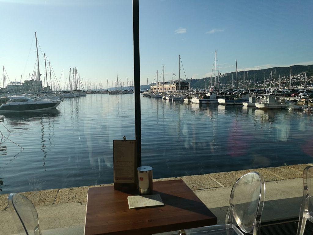 Trieste vista porto