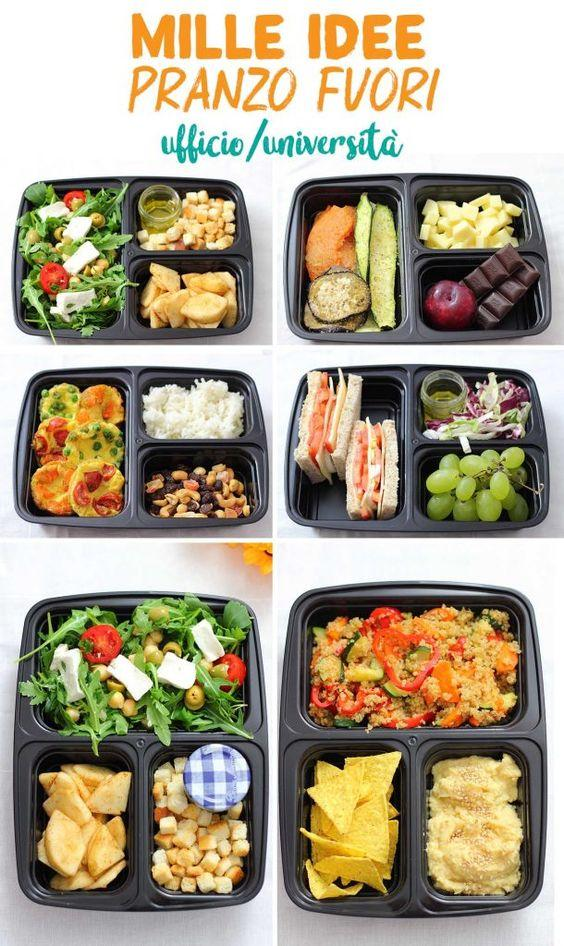 lunch box tante idee