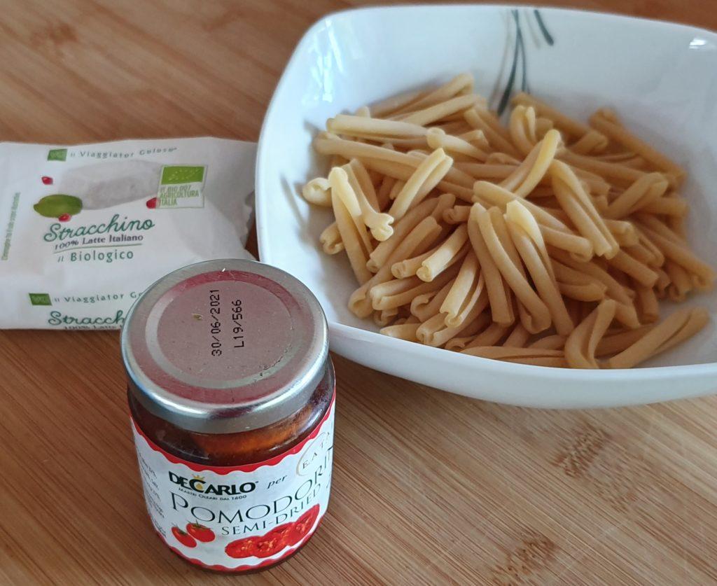 ingredienti pasta margherita