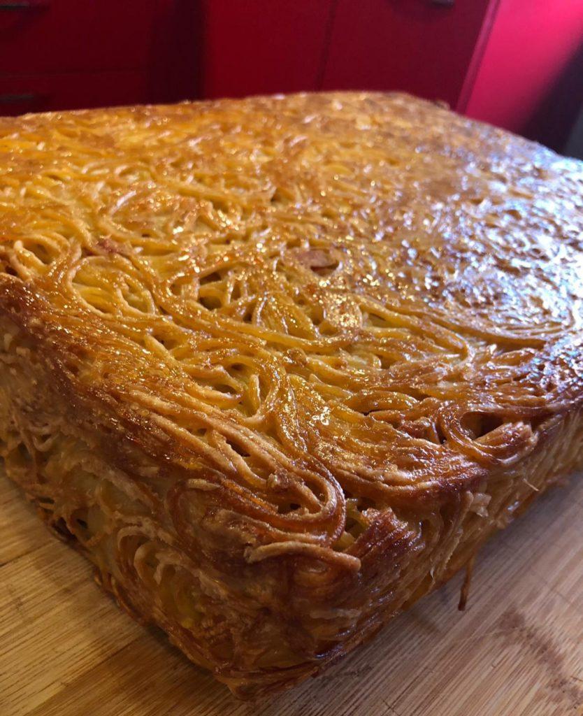 frittata di spaghetti