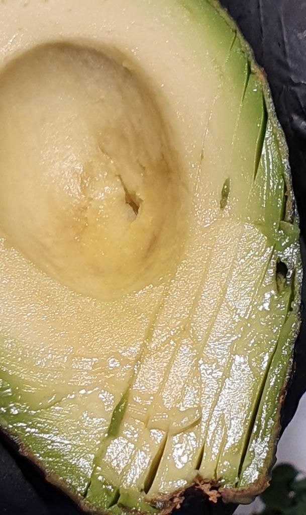 taglio dell'avocado