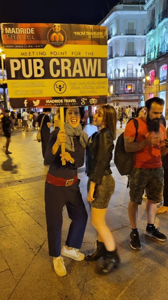 tour dei pub di Madrid