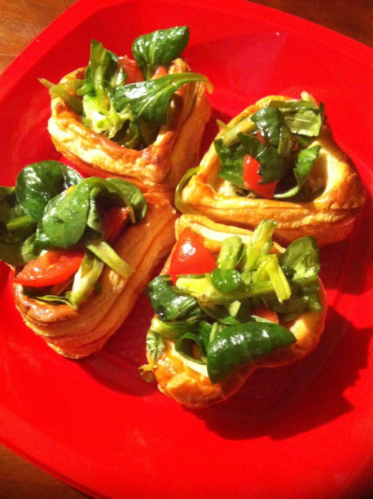 Creazioni di pasta sfoglia salate e dolci