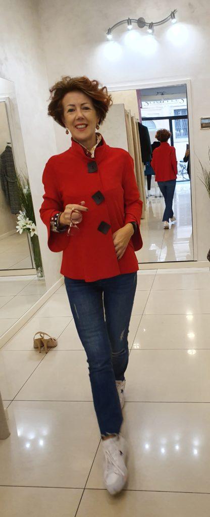 giacca rossa
