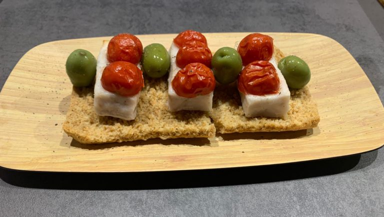 Filetti di merluzzo al forno con pomodorini