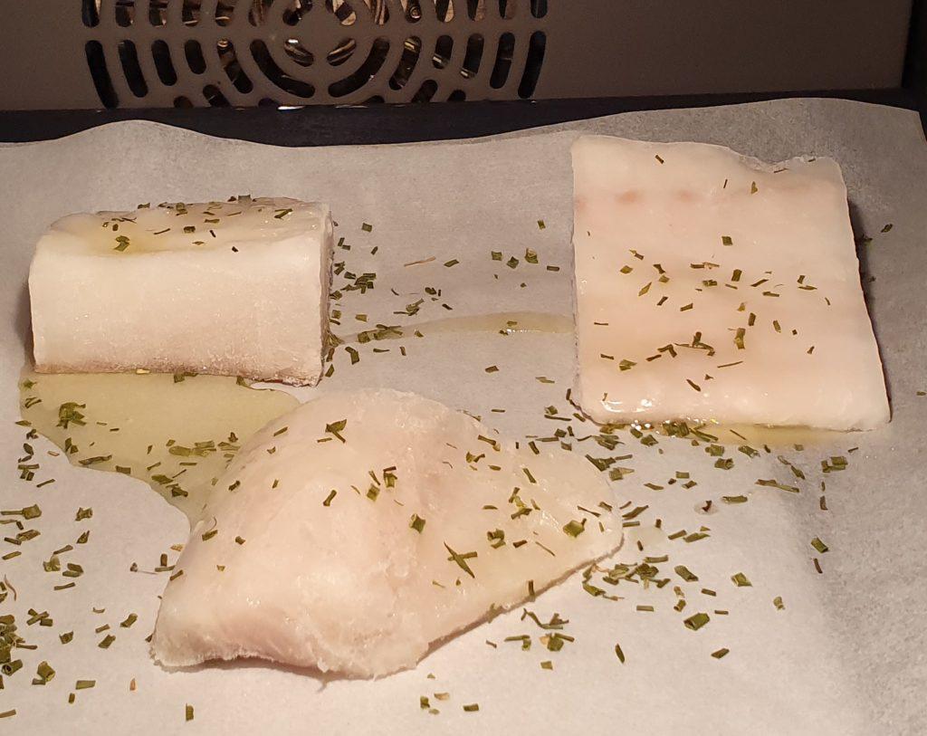 filetti di baccalà in forno