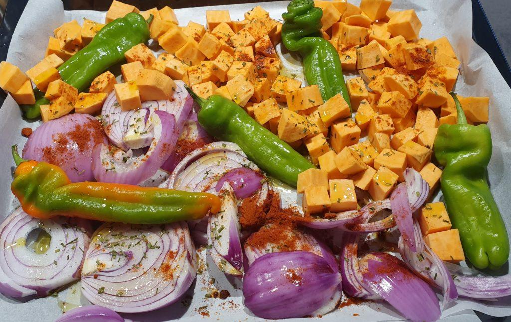 verdure in forno