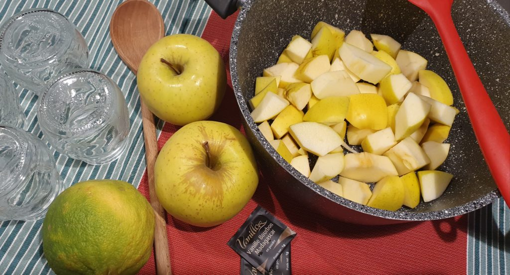 ingredienti marmellata di mele