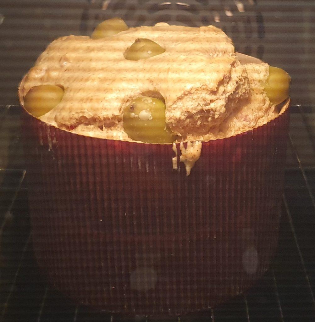 panettone salato in forno