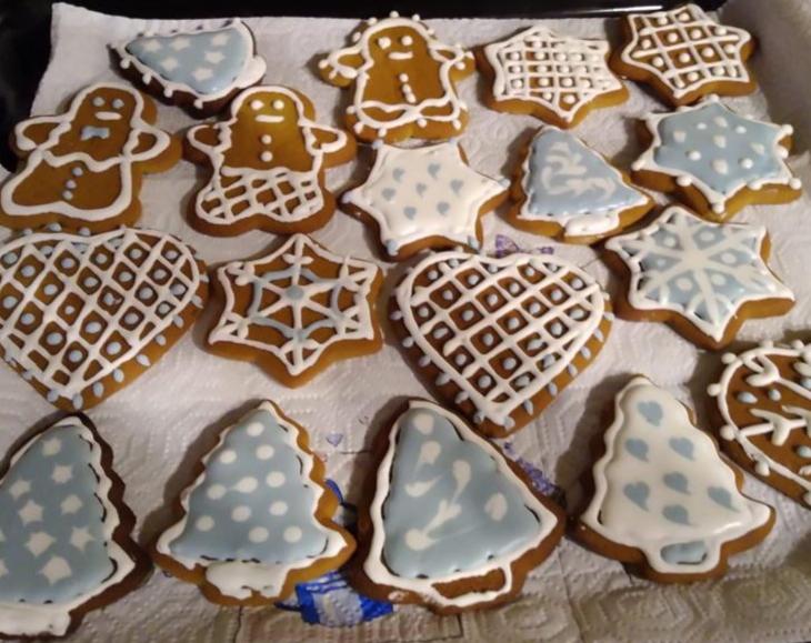 Biscotti decorati di Emanuelita e Francesco