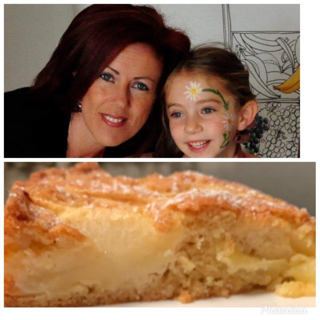 torta di mele con burro salato