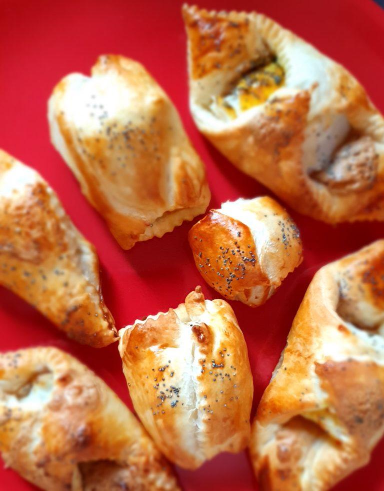 Fagottini di baccalà con burro di arachidi