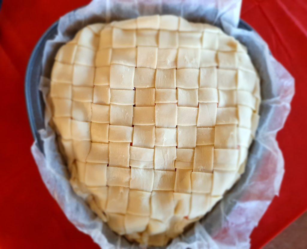 tagliatelle in crosta da cuocere in forno
