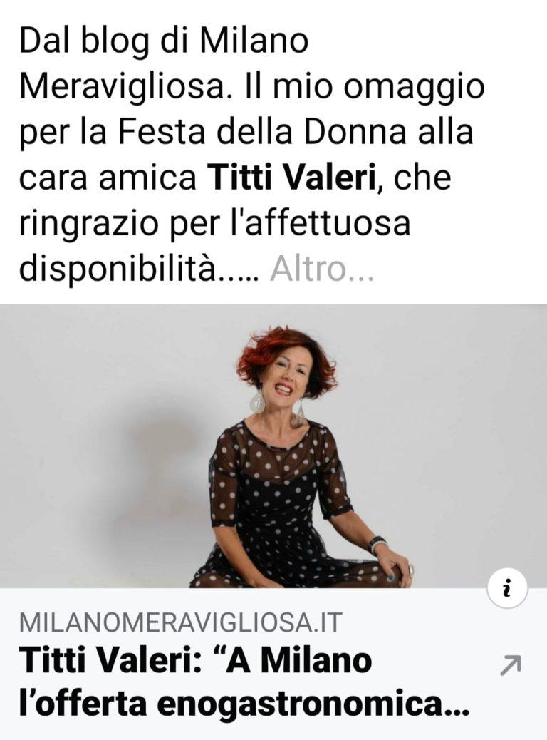 Milano meravigliosa: intervista di Ermanno Accardi