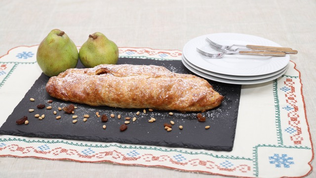 strudel di pere ricetta facile e veloce