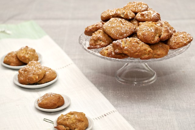 biscotti con mele e pere