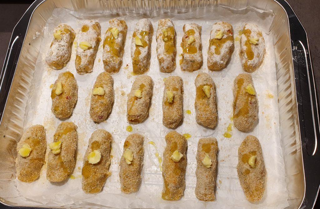 vrasciole/crocchette da cuocere in forno