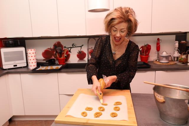 biscotti di mais preparati