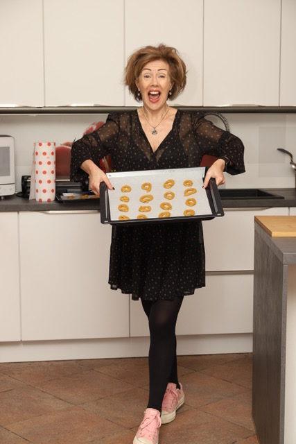 biscotti di mais in forno
