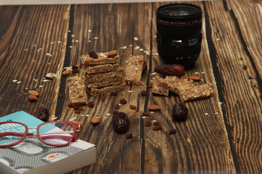 barrette snack sane e senza cottura