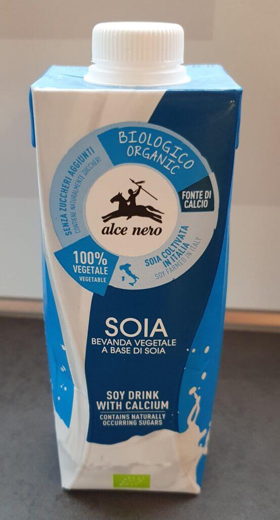latte di soia senza zucchero