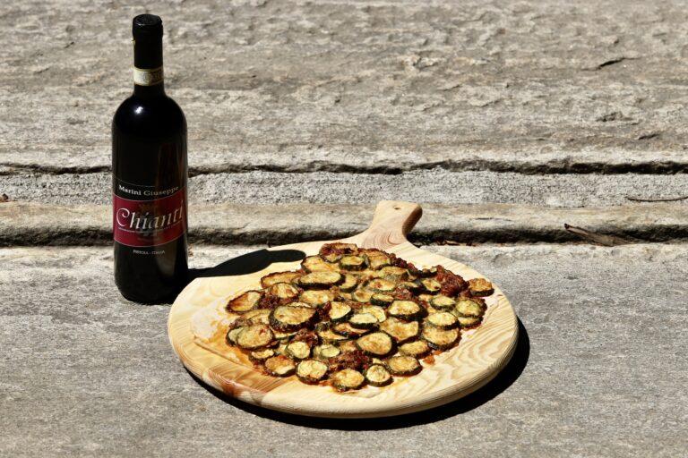 "Pizza di zucchine o ""scarpaccia"""