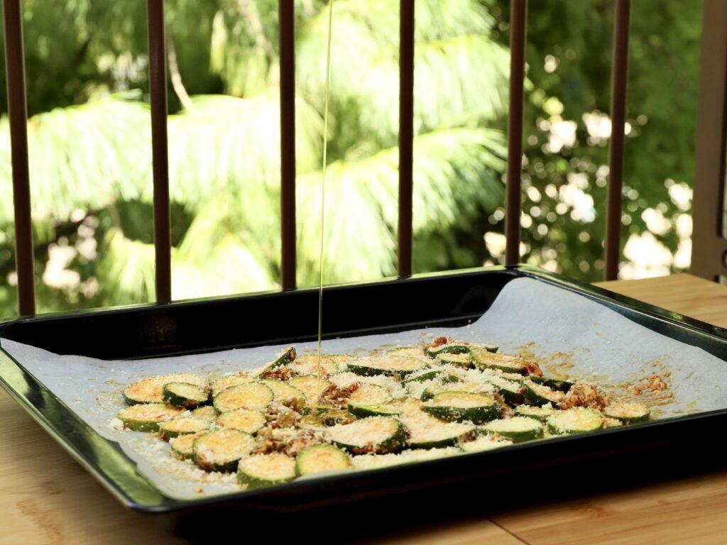 pizza di zucchine da cuocere in forno