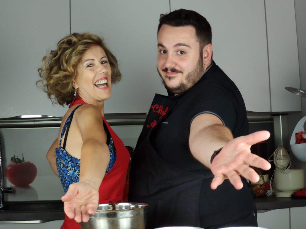 fuori menù chef Alex in cucina chiacchierina