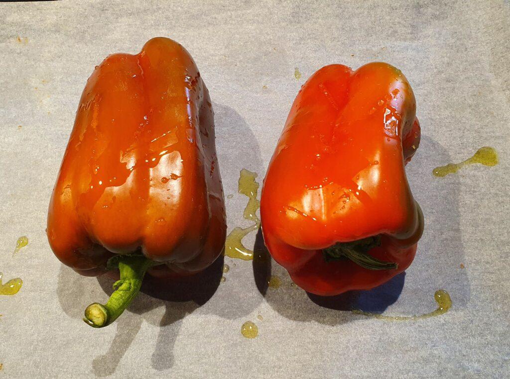 peperoni in forno