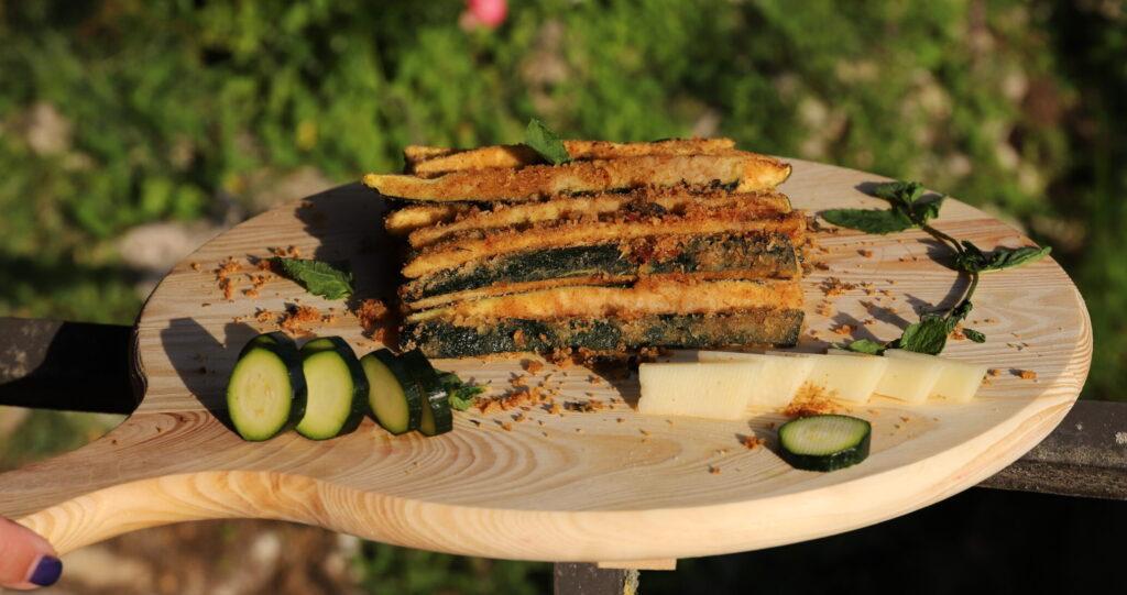 zucchine croccanti a bastoncino