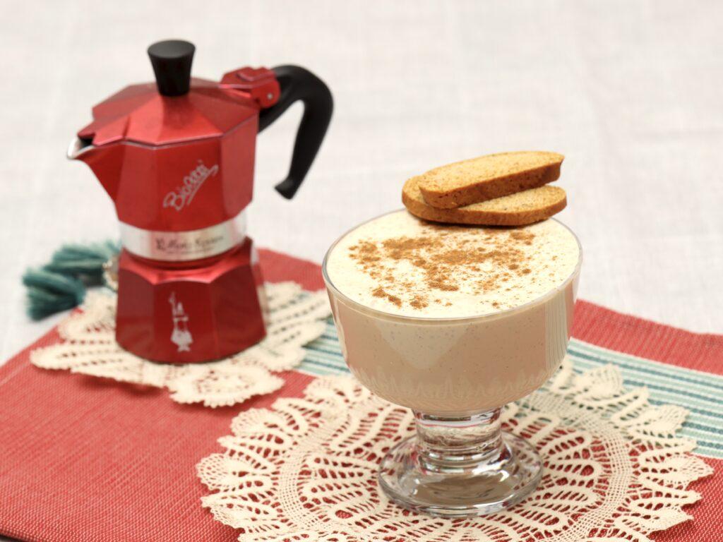 crema caffè con yogurt greco