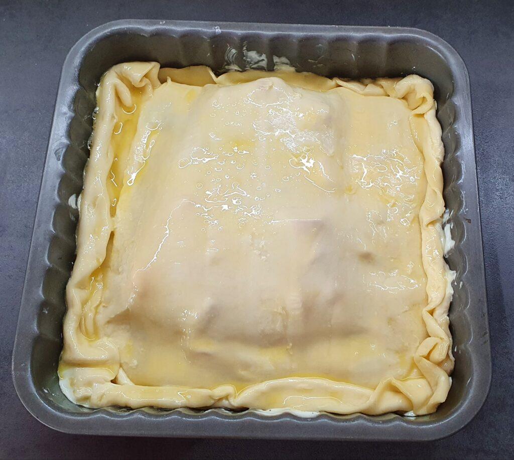 torta salata con peperoni e ricotta da cuocere in forno