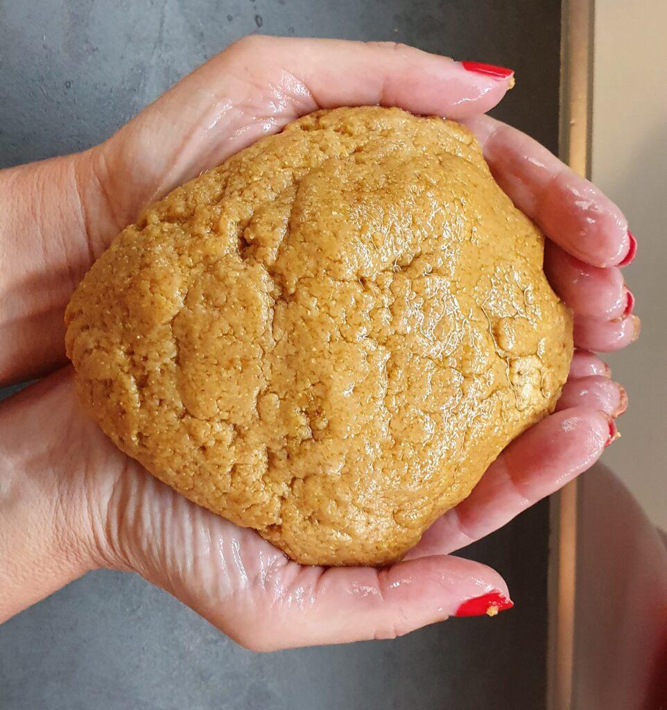 impasto di biscotti al caffè